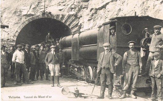 Tunnel du Mont d'Or