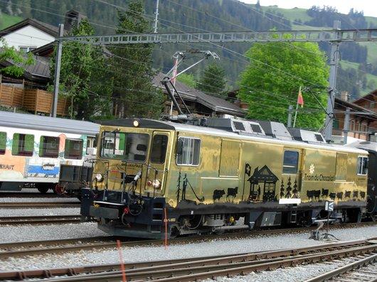 Locomotive du MOB, train du chocolat