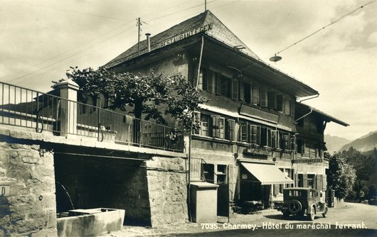 Charmey, Hôtel du Maréchal  Férrant