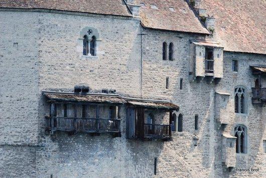 Le château , détail