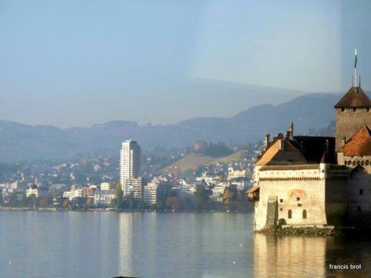La tour d'Yvoire de Montreux et le château