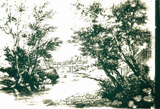 Croquis Pont-Rouge - Aire