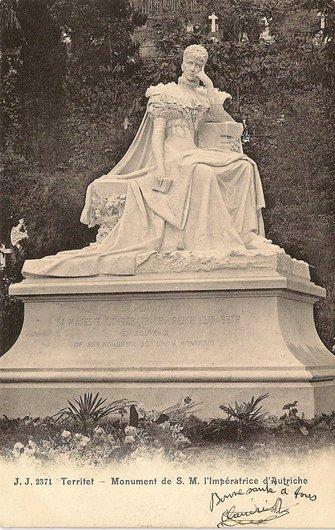 Elisabeth de Wittelsbach - Impératrice d'Autriche par Antonio Chiattone