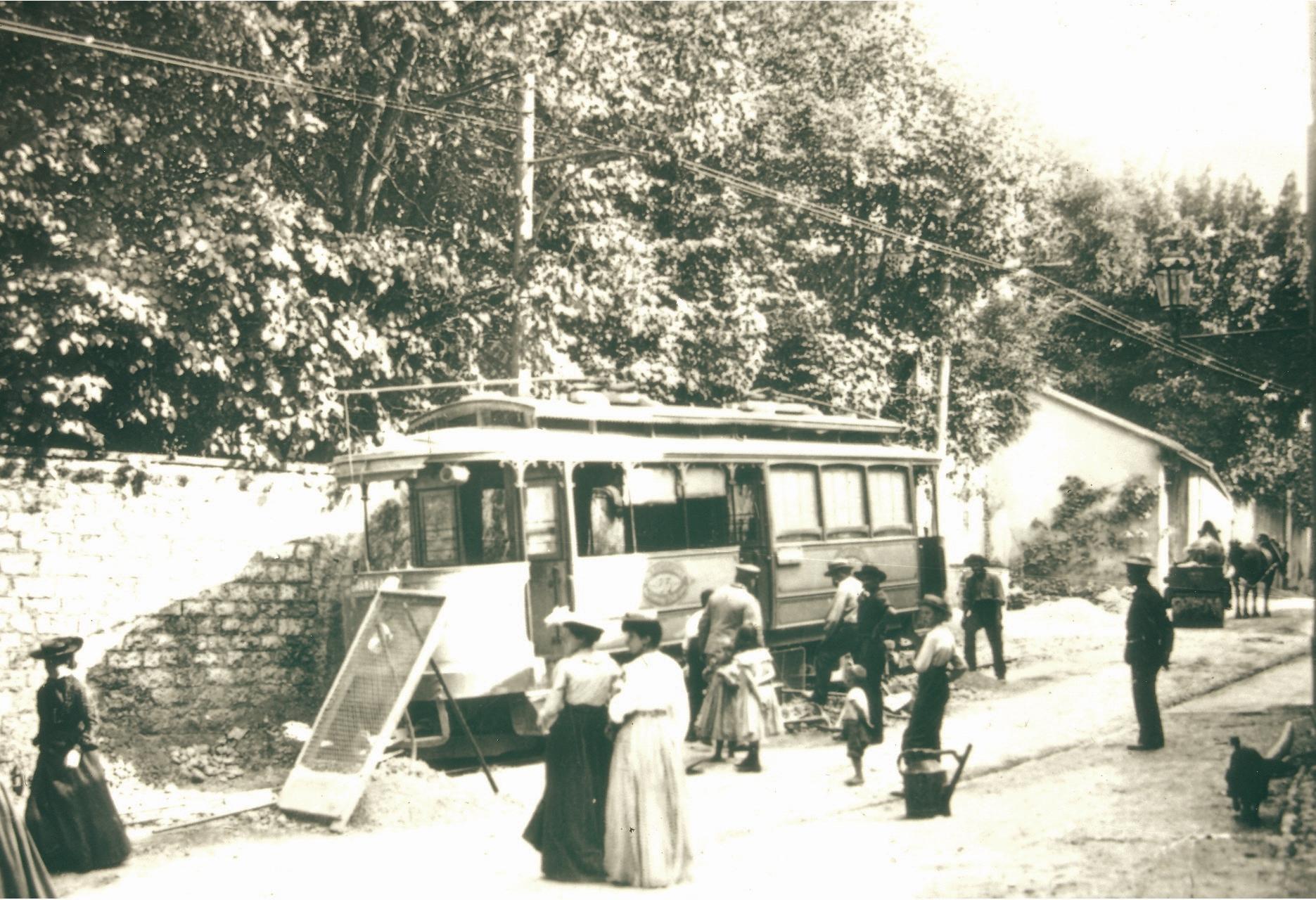 Tram au Grand-Lancy