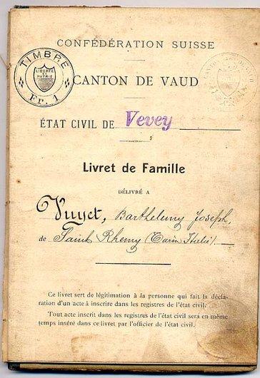 Etat civil - Emigré