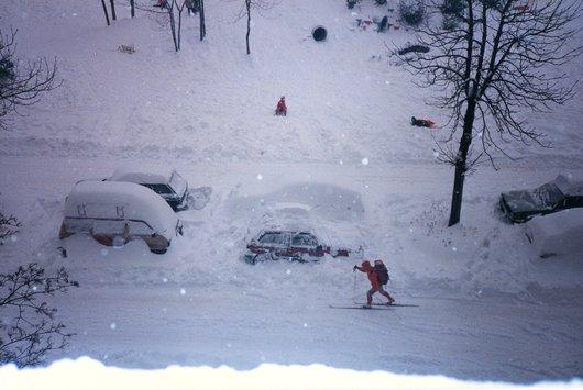 Chemin des Pontets, 1985