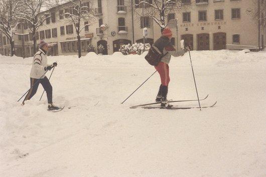Carrefour Eugène-Lance/rte du Grand Lancy, 1985