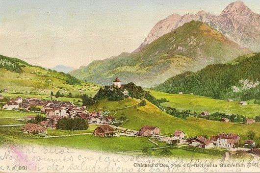 Château-d'Oex et la Gummfluh