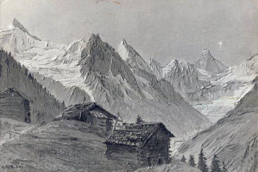 Fond de vallée