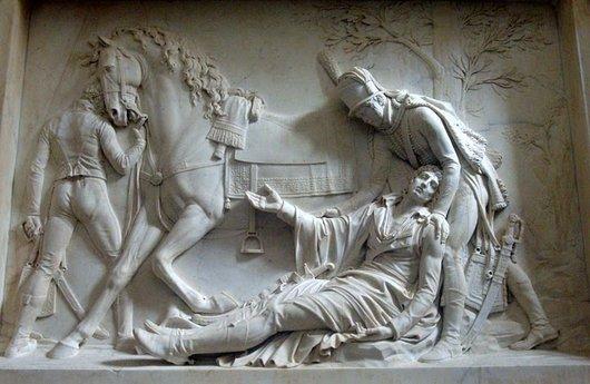 Monument funéraire de Louis-Charles Desaix de Veygoux (1768-1800) - Oeuvre de Jean-Guillaume Moitte