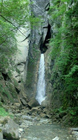 Cascade du torrent de la Taouna