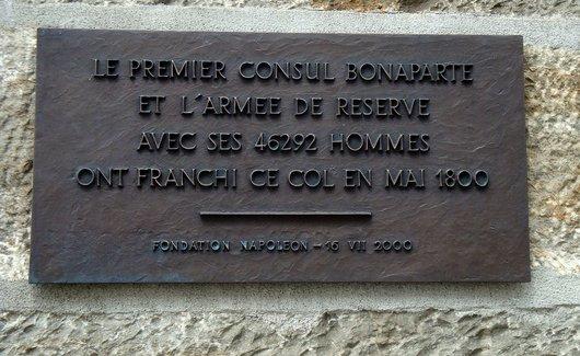 Le passage du Saint-Bernard par le Premier Consul