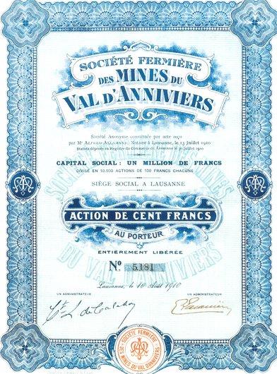 Mines d'Anniviers
