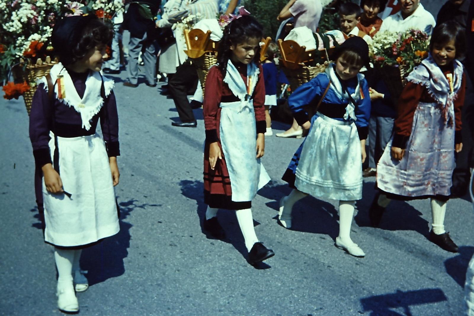 Fête des costumes valaisans en 1967