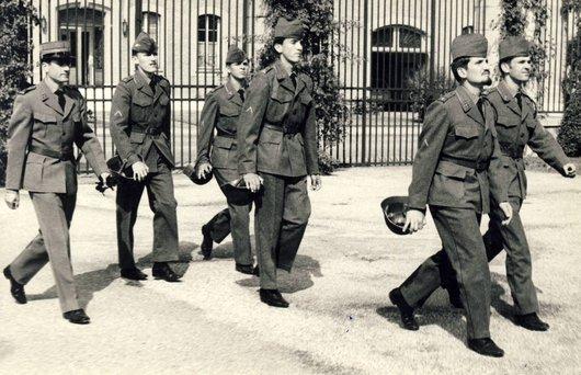 École de recrue1969