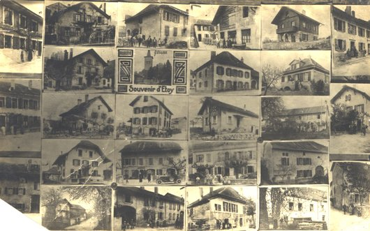 Etoy: maisons et vues générales