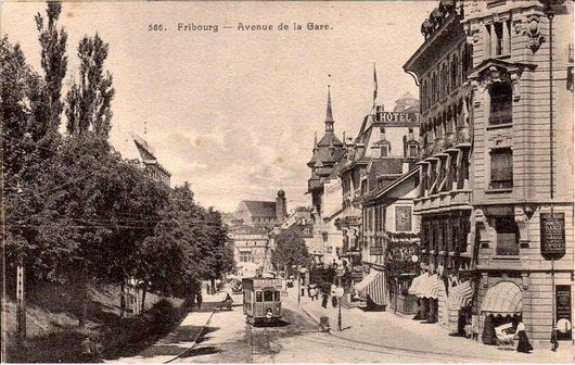 Fribourg en Tram