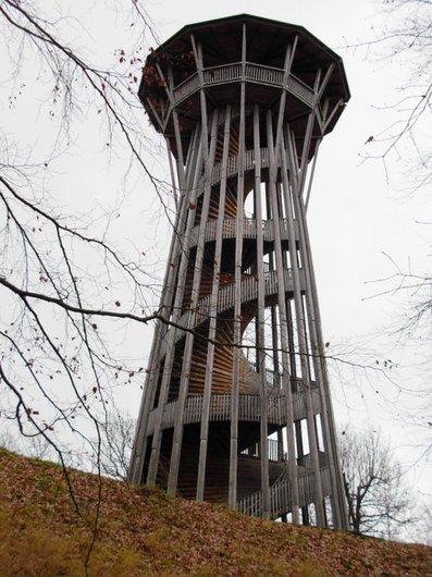 La tour de Sauvabelin