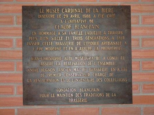 Musée Cardinal de la Bière