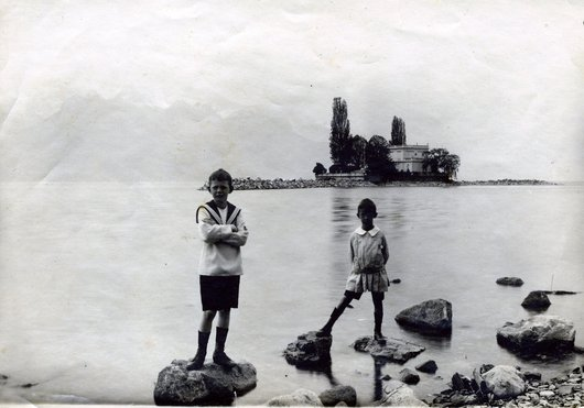 Devant l'île de Salagnon