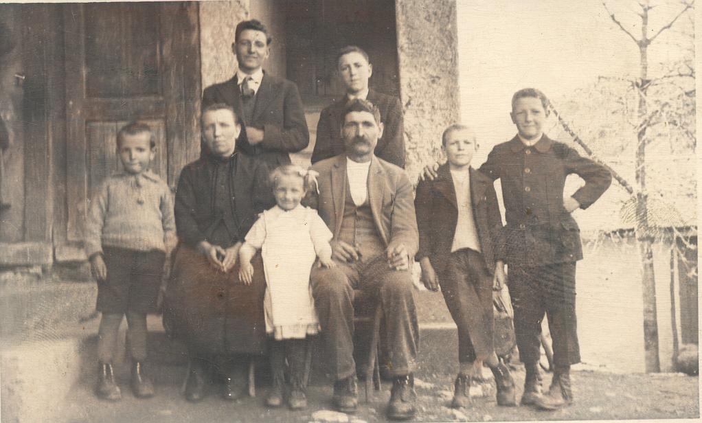 La famille à Chandolin