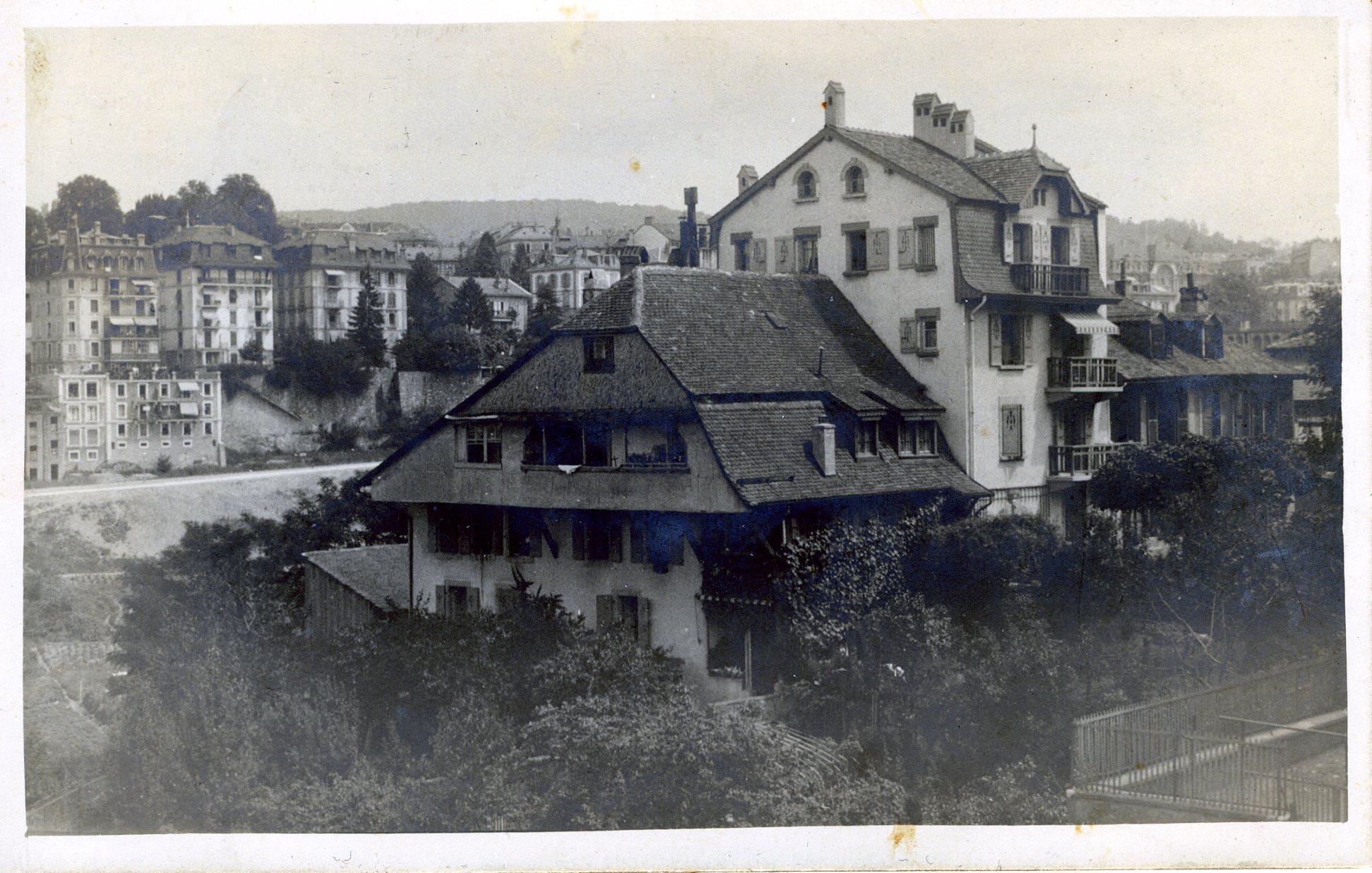 La Chaumière, rue Tivoli à Lausanne