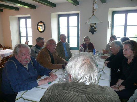 Réunion des anciens membres du CCU en 2010