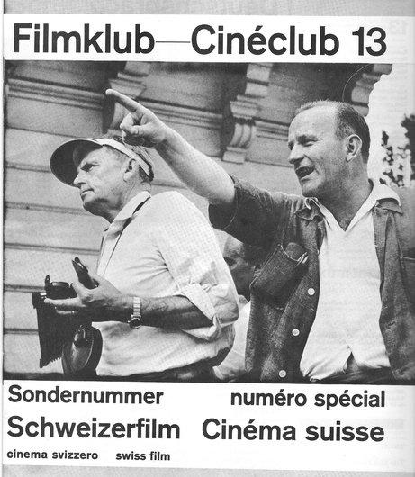 Numéro spécial sur le cinéma suisse