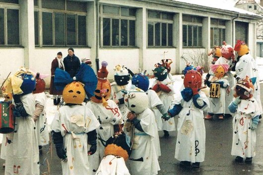 Fribourg, Le carnaval de l'Auge ..