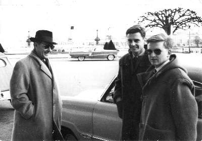 Roberto Rossellini à Genève en 1958