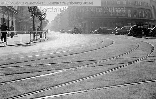 Fribourg. Place de la Gare