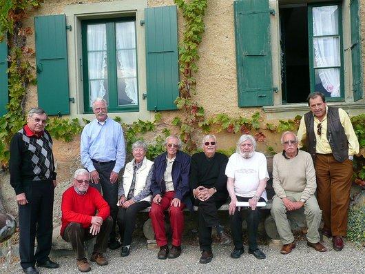Réunion des anciens membres du CCU en 2009