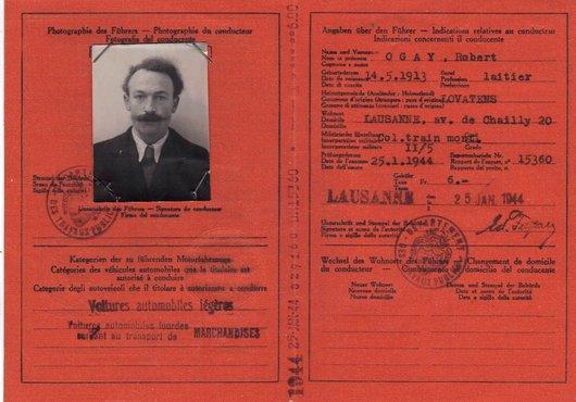 Le permis de conduire de mon Grand-Père