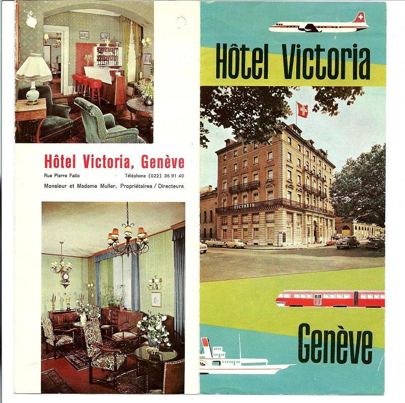 L'ancien Hôtel Victoria à Genève