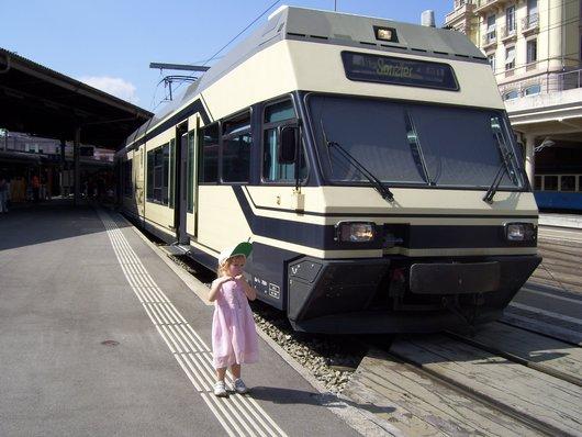 MOB, gare de Montreux en 2008