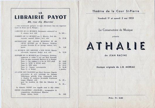 Programme Athalie face_163