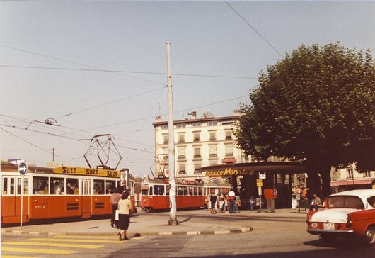 Rond-point de Plainpalais  1978