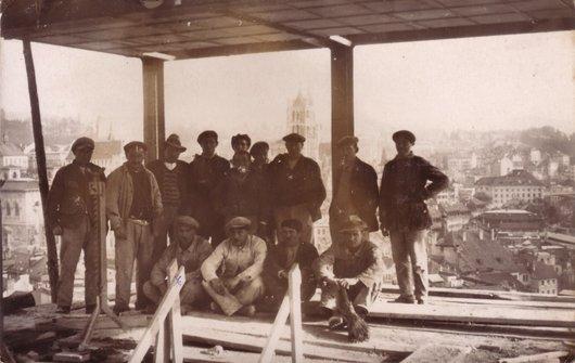 Inauguration du dessus du Métropole, Lausanne 1928