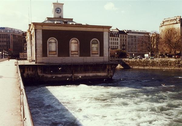 Ouverture des vannes du Pont de la Machine 1980