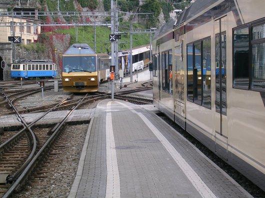 MOB/Goldenpass, gare de Montreux