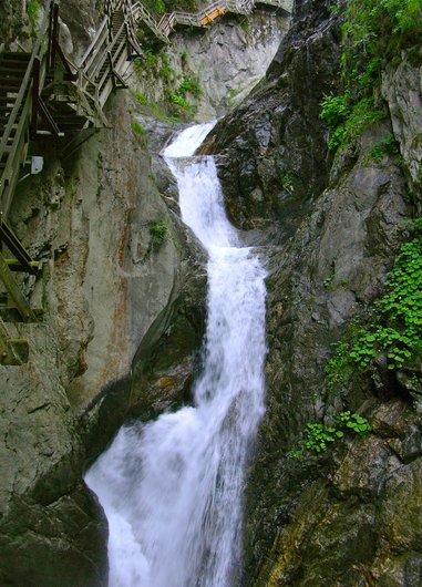 La visite des gorges du Durnand