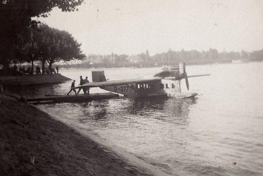 Hydravion sur le Lac de Constance