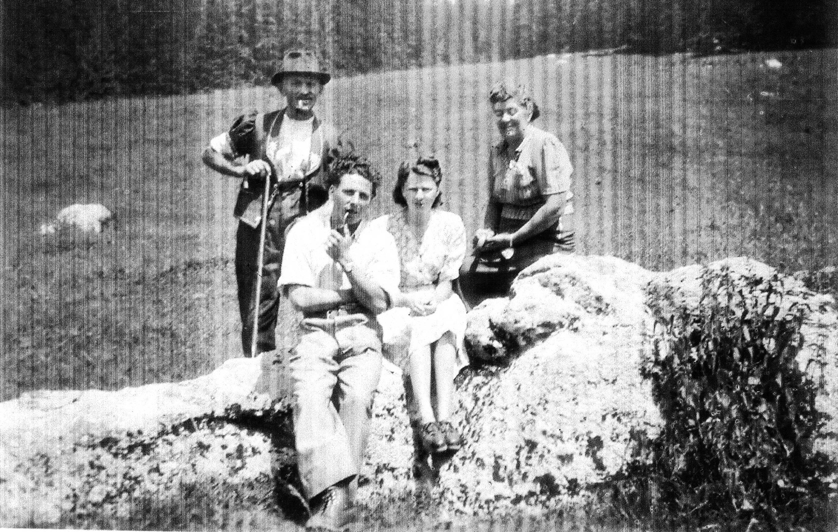 Famille Gremaud Chalet du Cheval Brulé.