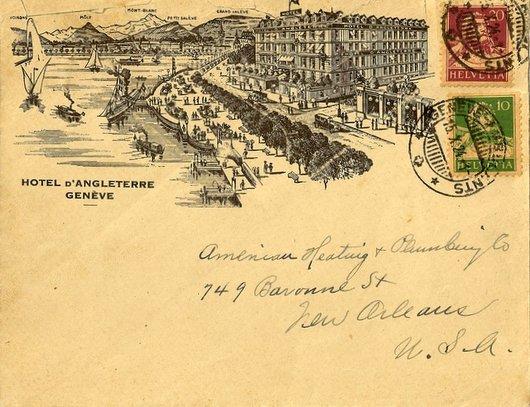 Hôtel d'Angleterre - Genève