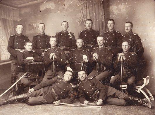 Cavalerie à Ballaigues