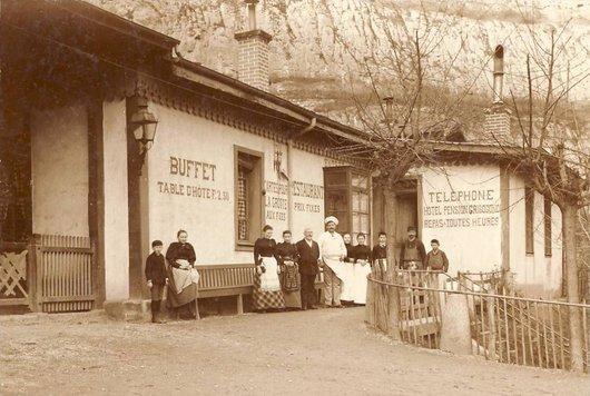 Buffet de la gare de St-Maurice
