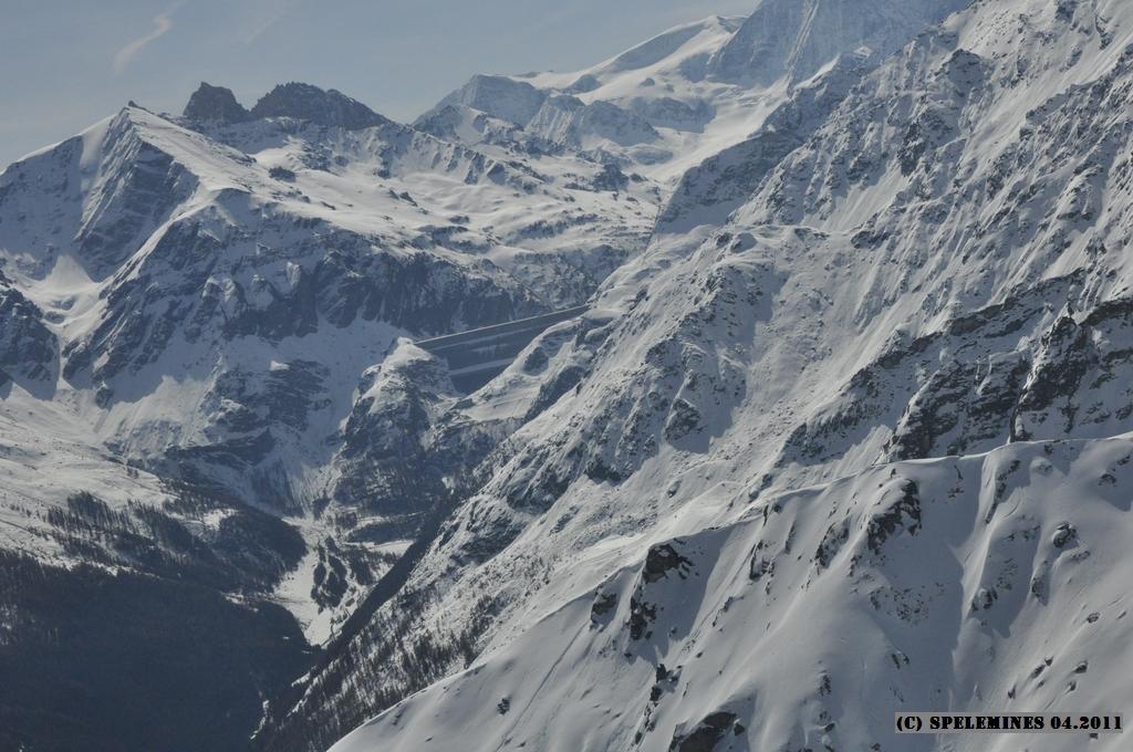Grande-Dixence, barrage de Haute montagne