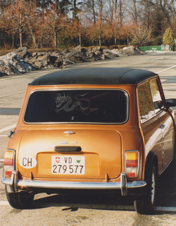 Ma première voiture une mini 1100 Spécial. - Notre Histoire