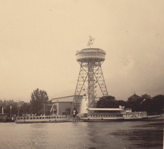 Super structure en suisse, Lucerne (Weltausstellung)1952