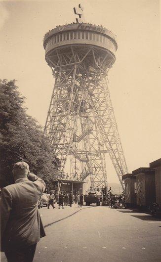 Super structure en suisse Lucerne (Weltausstellung)1952